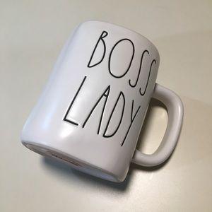 Rae Dunn BOSS LADY Coffee Mug NEW